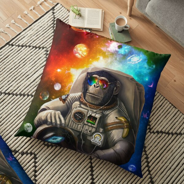 SPACE MONKEY  Floor Pillow