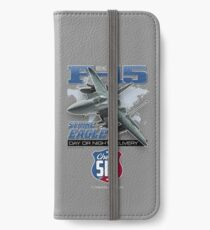 Boeing F-15 Strike Eagle Day or Night Delivery iPhone Wallet/Case/Skin