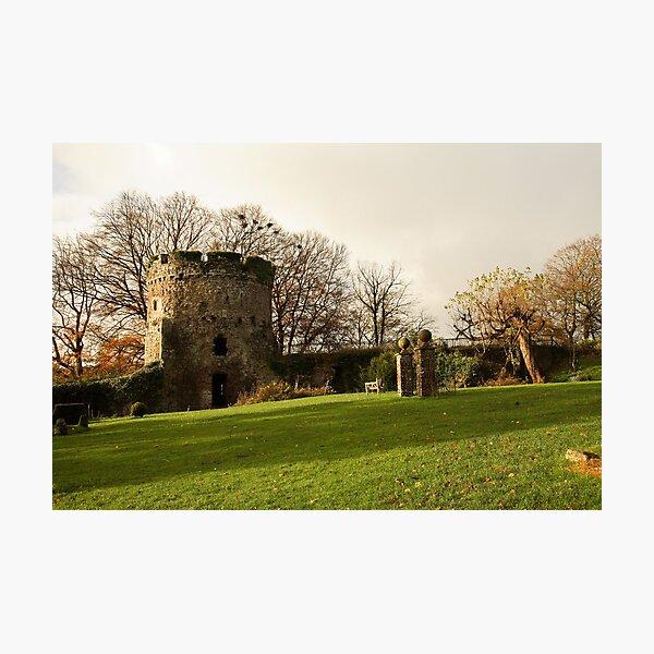 Usk Castle Photographic Print