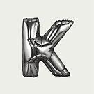 Alphabet Monday - K by LucySchmidtArt