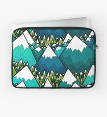Winter peaks and woods Laptop Sleeve