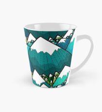 Winter peaks and woods Tall Mug