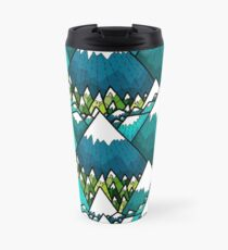Winter peaks and woods Travel Mug