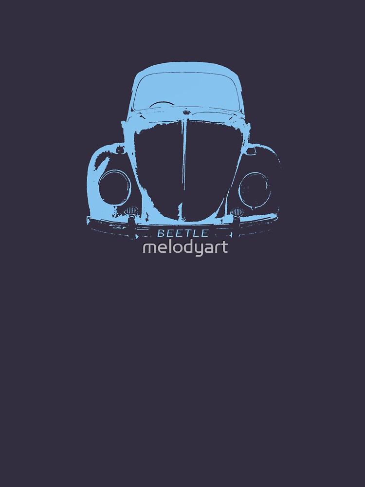 VW Beetle -  Light Blue | Women's T-Shirt