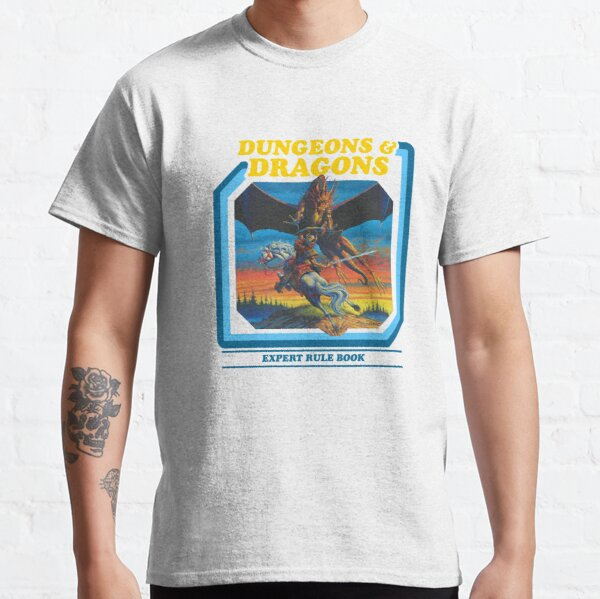 80's Dungeons & Dragons Expert Rule Book Classic T-Shirt