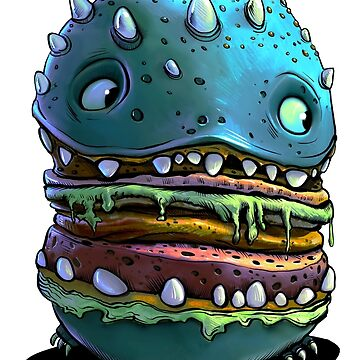 Monster Burger by Lefrog