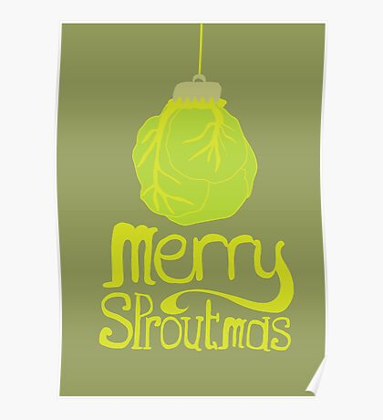 Merry Sproutmas Poster