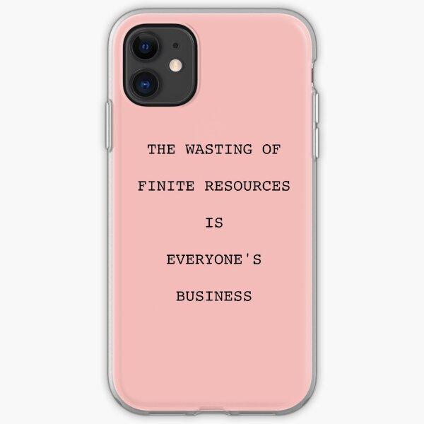 Twilight - Edward Quote iPhone Soft Case