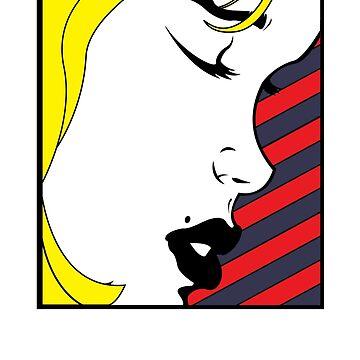 Pop art girl by D-Vega