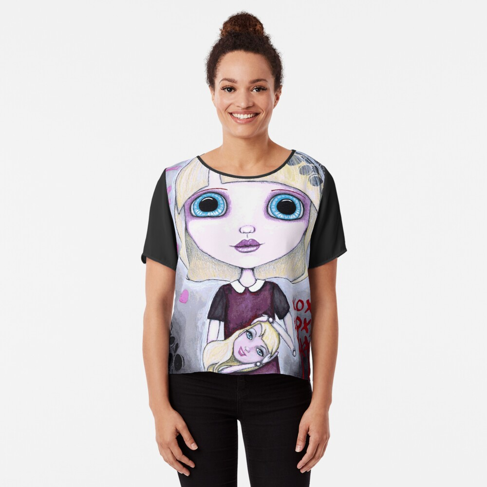 Number One Fan (Full Color Version) Chiffon Top