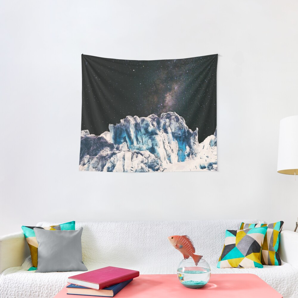 Universe In Winter Tapestry