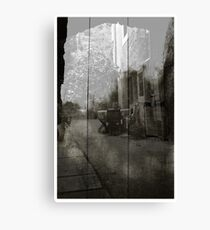 a tribute to Atget Canvas Print
