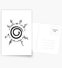NARUTO SEAL Postcards