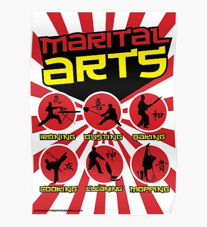 Marital Arts Poster