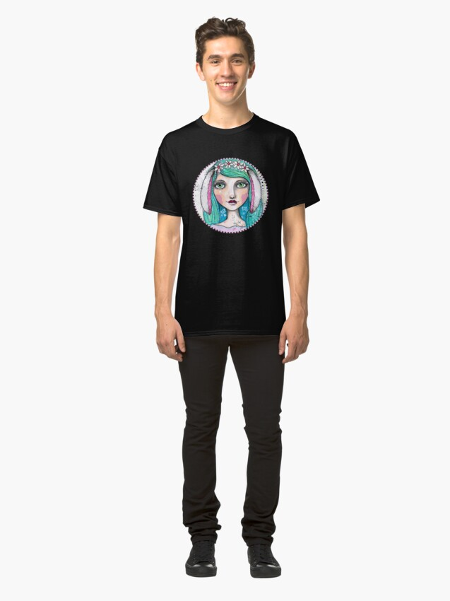 Alternate view of It's A Bunny Kind Of Day Classic T-Shirt