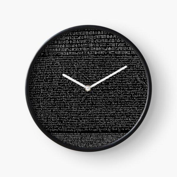Rosetta Stone Clocks Redbubble