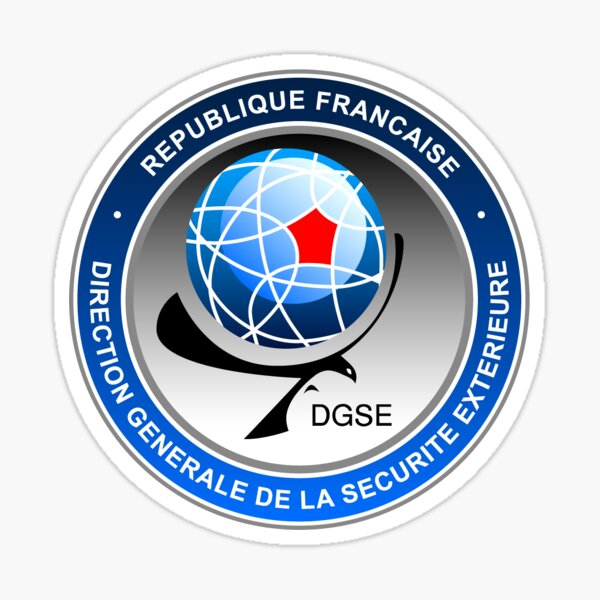 DGSE logo Sticker