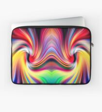 The Other Side Of The Rainbow Wormhole Laptop Sleeve