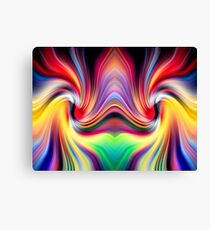 The Other Side Of The Rainbow Wormhole Canvas Print