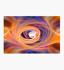 How About Orange Photographic Print