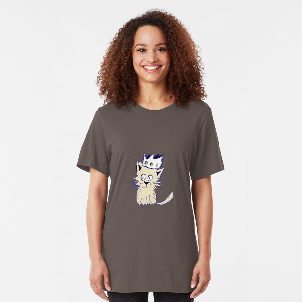 King of cats Slim Fit T-Shirt