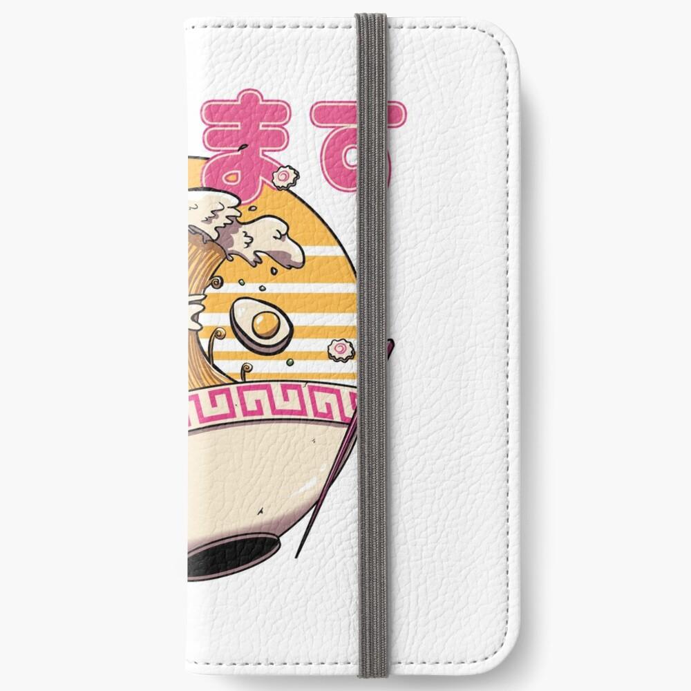 Die große Ramen-Welle iPhone Flip-Case