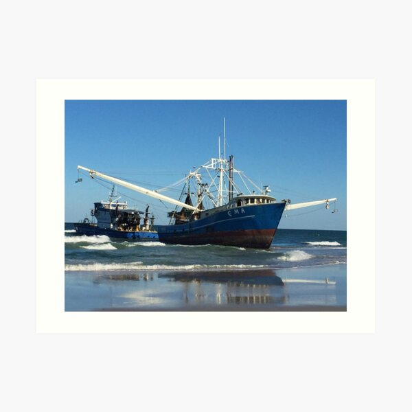 The Little Tug That Could Art Print