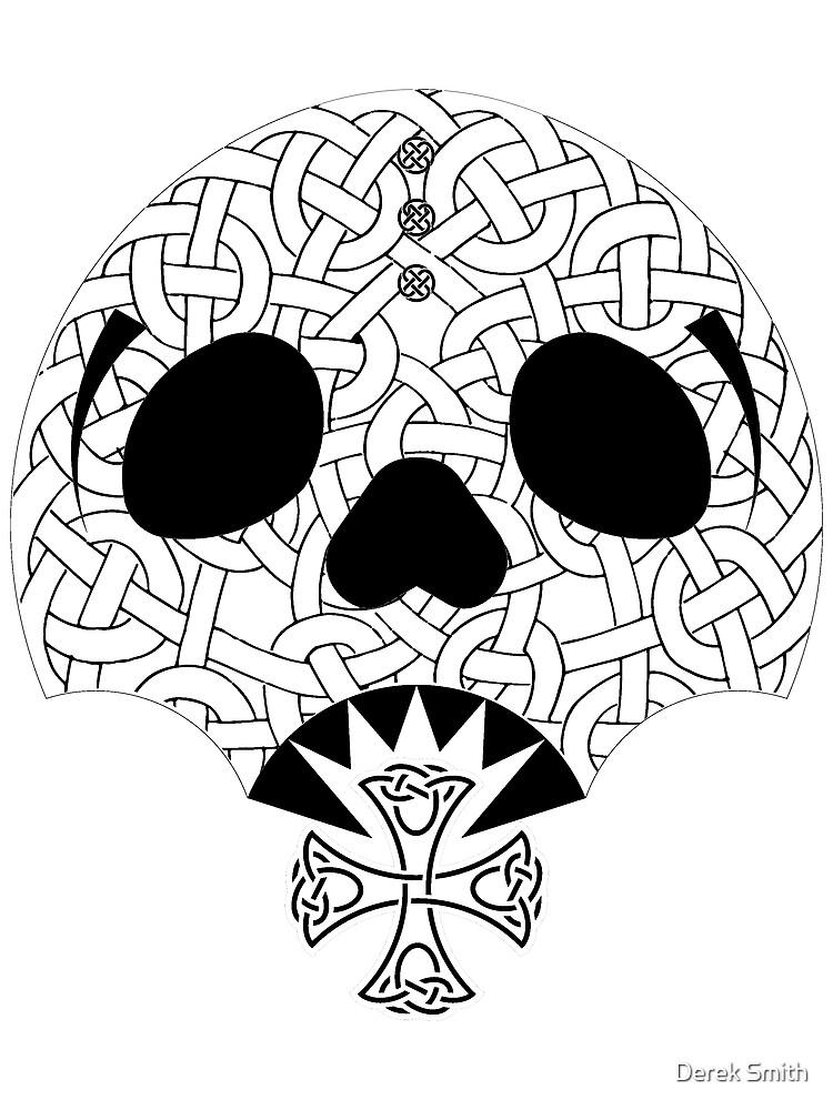 Celtic Skull by derekkered