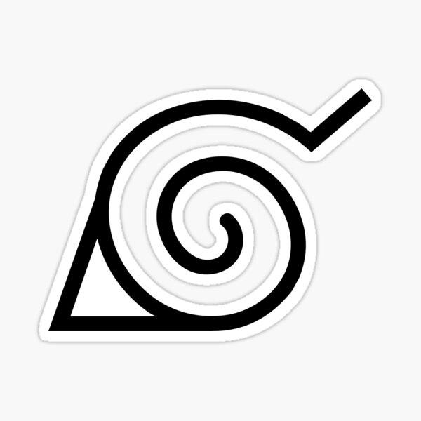 Konoha Symbol Sticker