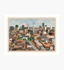 St Paul's & The City Art Print