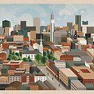 St Paul's & die Stadt von Brumhaus