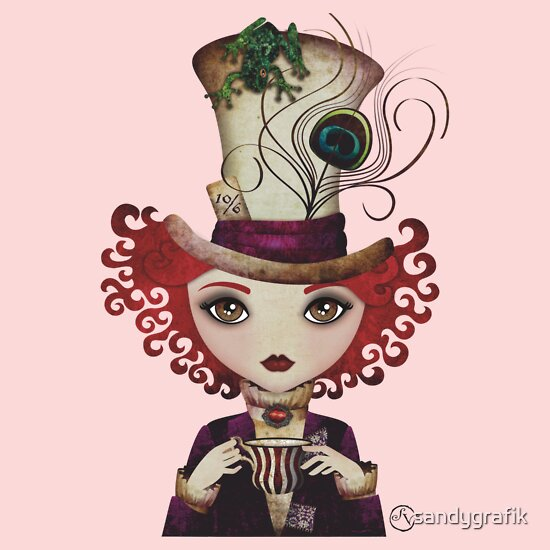 TShirtGifter presents: Lady Hatter