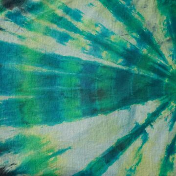 Tie Dye in Blue and Green 5 by LoraMaze