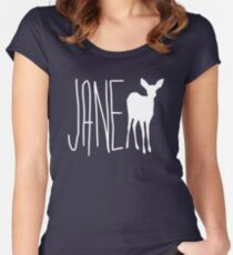 jane doe Women's Fitted Scoop T-Shirt