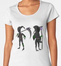 Grim Reaper Halloween Edition Premium Scoop T-Shirt