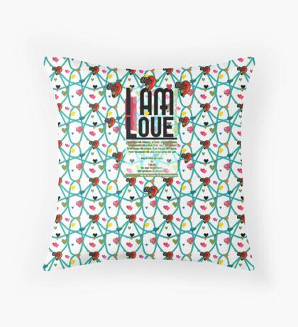 I am Love Floor Pillow