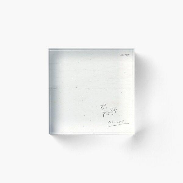 RM Mono Acrylic Block