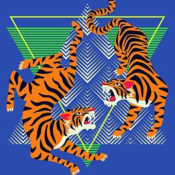 Retro Tiger 01 by machmigo