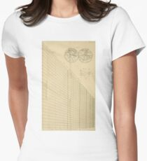 Jérôme Lalande's Astronomie (1771) - Cartographic Calculations Women's Fitted T-Shirt