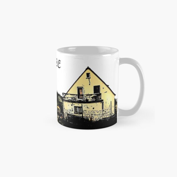 Dragon's Hill Panorama Design Classic Mug
