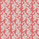 Cherry Blossom Branch Pattern von Sarah  Deters
