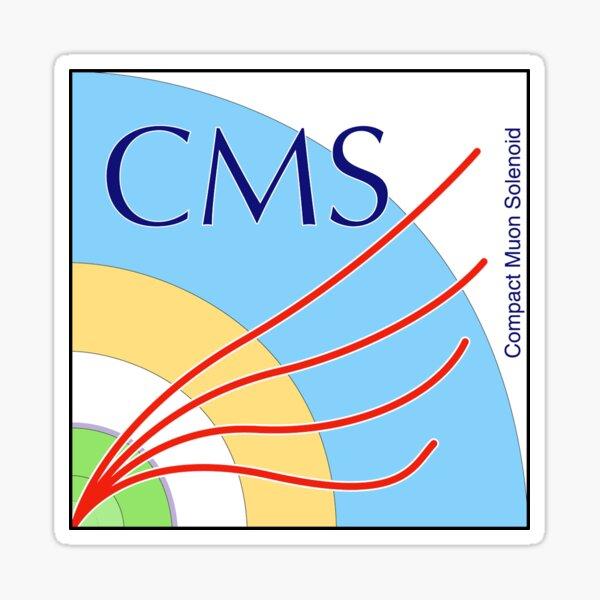 Compact Muon Solenoid (CMS) Logo Sticker