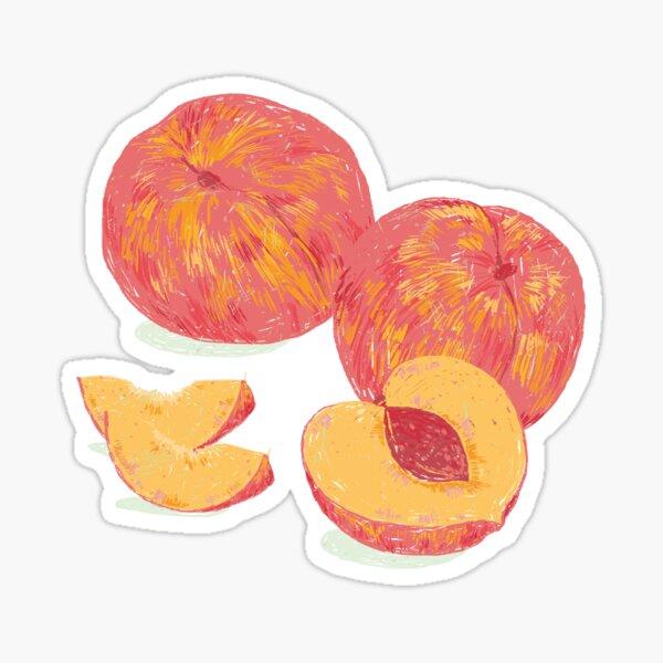 Sweet Peach Sticker