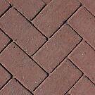 Diagonal Bricks by Logan McCarthy