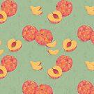 Sweet Peach Pattern von Sarah  Deters