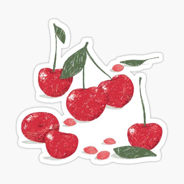 Sweet Cherry Pattern Sticker