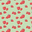 Sweet Strawberry Pattern von Sarah  Deters