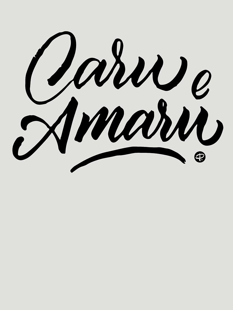 Caru e Amaru - #siculigrafia by premedito