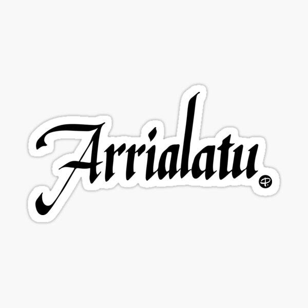 Arrialatu - #siculigrafia Sticker