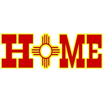 Home Zia Symbol New Mexico by NewMexicoTees